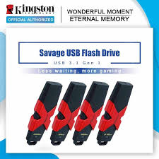 <b>Kingston HyperX Savage</b> USB 3.1 Flash Drive 512GB Flash Disk ...