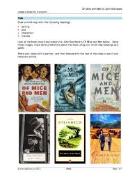 of mice and men by john steinbeck ks resources all 3 preview
