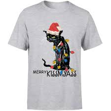 <b>Funny</b> Christmas Gift Ideas Merry Kissmyass Black <b>Cat Light</b> ...