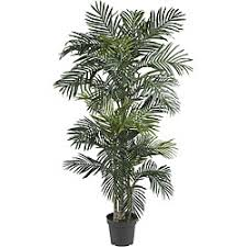 silk 65 foot golden cane palm tree artificial plants for office decor
