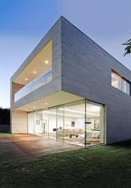 Open Block  The Modern Glass and Concrete House Design by ARQX    Open Block  The Modern Glass and Concrete House Design by ARQX arquitectos