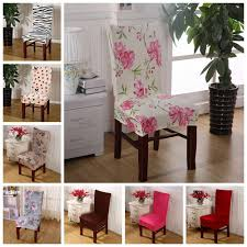 Dining Room Wedding Banquet <b>Chair Cover</b> Party Decor Seat ...