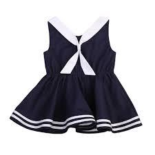 2018 <b>Newest 1PC</b> Sleeveless Casual Baby Girls <b>Dress</b> Tie <b>Summer</b> ...