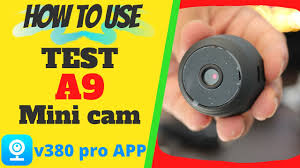 <b>Mini Camera</b> WIFI <b>A9</b> IP <b>Cam</b> User Manual APP Setup - YouTube