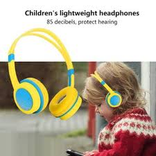 <b>E3 Kids</b> Headphones <b>Child</b> Safe Volume Hearing Protection Soft ...