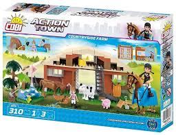Купить <b>Конструктор Cobi</b> Action Town 1875 Ферма по выгодной ...