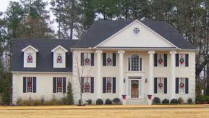 Two story bedroom    bath colonial style house plan    House Plan Details Need Help  Call us      PLAN