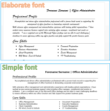 cv mistakes to note when writing your cv cv fonts