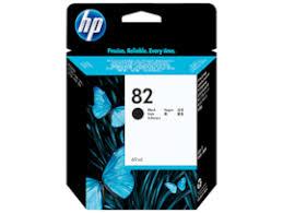 <b>HP 82</b> 69-ml <b>Black DesignJet</b> Ink Cartridge, CH565A (CH565A)
