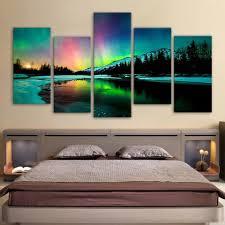 Landscap <b>wall canvas</b> print – Elleseal
