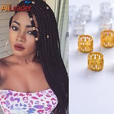 <b>Golden</b> Dreadlock Beads for Hair Adjustable No Rust <b>Aluminum</b> ...