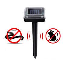 <b>Solar Ultrasonic</b> Electronic Mouse <b>Repeller</b> Snake <b>Repeller</b> ...