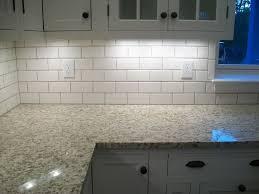 backsplash subway tile design white color