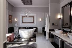 amazing modern bathroom design ideas with white glossy tile ceramic flooring white wall painting white awesome bathroom design nice pendant