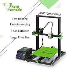 TEVO Tornado 3D Printer Fully Assembled Aluminium ... - Amazon.com