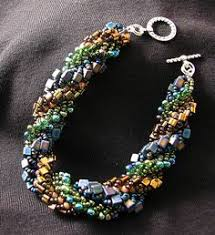 92 Best Cellini Spiral Jewelry images in 2019   <b>Beaded</b> jewelry ...
