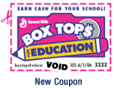 Image result for box tops clipart