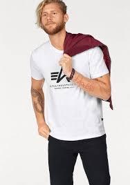 "<b>Футболка</b> ""Basic T-shirt"" <b>Alpha Industries</b> - черный, белый и темно ..."