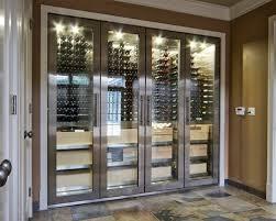 saveemail chic minimalist wine cellar design decorated