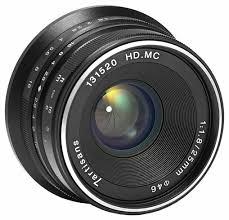 <b>Объектив 7artisans 25mm f/1.8</b> Sony E купить по цене 4900 на ...