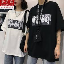 <b>HOT SALE 2019</b> Summer Short Sleeve T-Shirt <b>Korean</b> retro cartoon ...