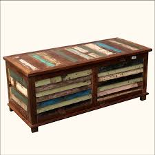 storage trunk coffee table rustic reclaimed wood multi color coffee table storage trunk chest chest coffee table multifunction furniture