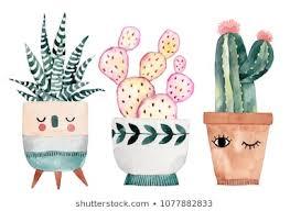 <b>Watercolor Cactus Pot</b> Images, Stock Photos & Vectors   Shutterstock