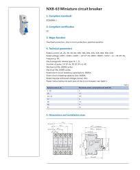 NEW <b>CHINT Mini</b> Circuit Breaker NXB 63 2 Poles C Type 6A 10A ...