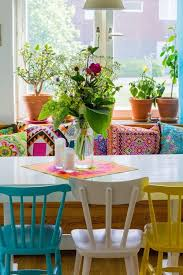 colorful dining chairs room galleries