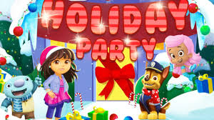 nick jr holiday party game