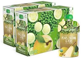 Happy Baby <b>Organic</b> Clearly Crafted Stage 2 <b>Baby Food Pears</b>