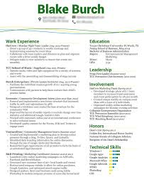 the perfect resume format resume badak marketing internship resume template