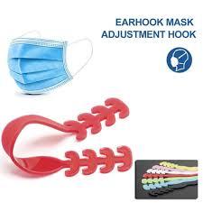 8 Pcs <b>Adjustable Anti slip Mask Ear</b> Grips Extension Hook Face ...
