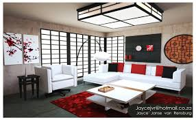 asian living room asian living room design beautiful red flower painting rugs tone adorn modern ethnic asian collection