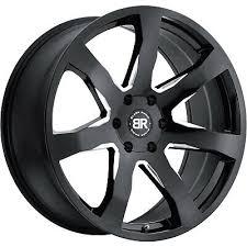 4 - 18x8.5 Black Milled Wheel <b>Black Rhino Mozambique</b> 5x4.5 35 ...