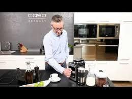<b>CASO Coffee Compact</b> - Kompakte Filterkaffeemaschine mit Mahlwerk