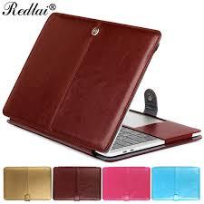 2019 <b>Redlai Laptop Case For</b> Mac Air Pro Retina 11 12 13 15 PU ...