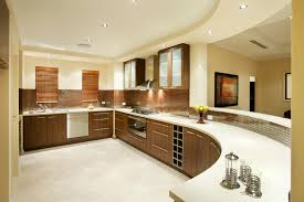 super large and beautiful kitchen interior design big beautiful modern office photo