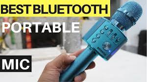 BONAOK <b>Bluetooth</b> Microphone UNBOX & REVIEW - <b>Karaoke Mic</b> ...
