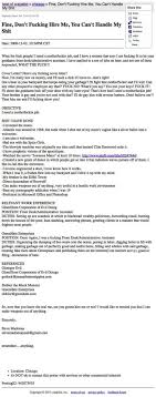 hilarious resumes and job applications   funcagefuncagehilarious real resumes actually received by companies