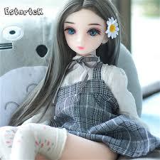 Estartek 1/3 <b>High Quality</b> Sexy Soft TPE <b>Silicone</b> Doll <b>65cm</b> Lovely ...