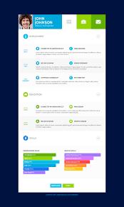 flatcv resume portfolio html by themerex themeforest flatcv resume portfolio html5