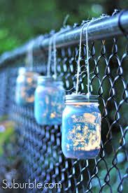mason jar lighting ideas painted mason jar lantern 12 suburble adore diy hanging mason jar