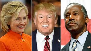 Image result for Clinton and Trump pictures