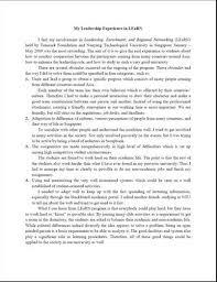 example leadership essay   mfacourseswebfccom example leadership essay