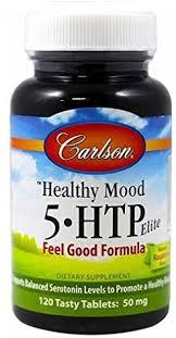 Carlson Healthy Mood 5-htp Elite 50mg Raspberry ... - Amazon.com