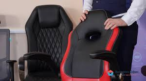 Игровое <b>кресло Бюрократ Viking 1N</b> - YouTube