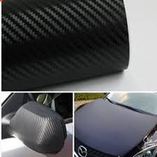 <b>30cmx127cm 3D Carbon</b> Car Wrap Sheet Roll Car Stickers and ...