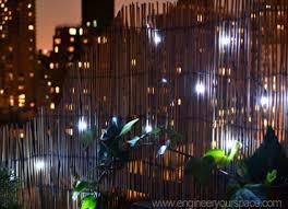solar balcony lights balcony lighting