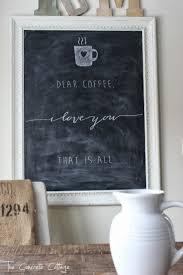 iron wall decor u love: schane kreidetafel memoboard the concrete cottage dear coffee i love you that